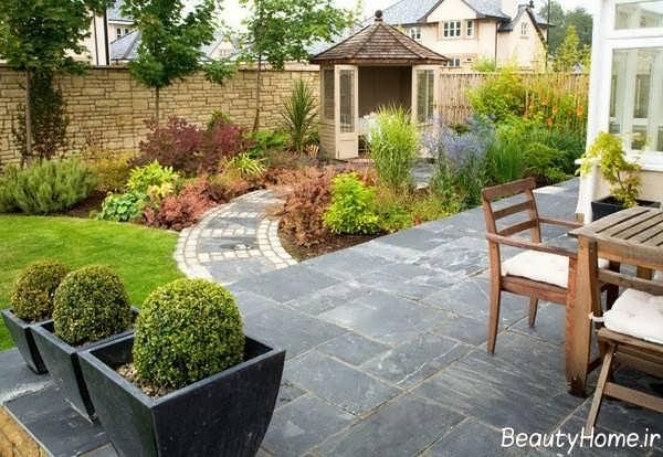 طراحی زیبا و کاربردی محوطه باغ