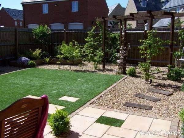 دیزاین محوطه در فضای سبز باغ