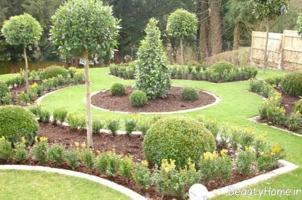 دیزاین محوطه سازی باغ