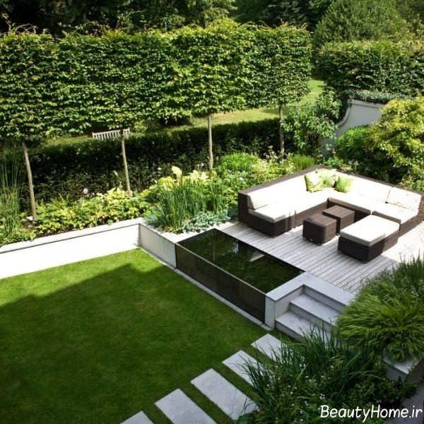 طراحی شیک و کاربردی فضای سبز