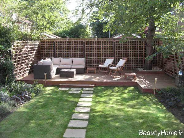 محوطه سازی باغ با طراحی شیک و کاربردی