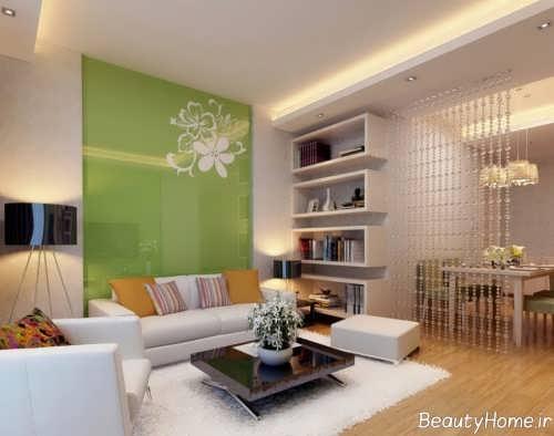 دکوراسیون داخلی سبز منزل