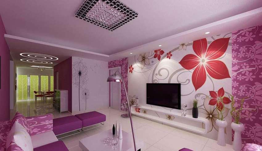 دکوراسیون داخلی بنفش برای قسمت های مختلف منزل