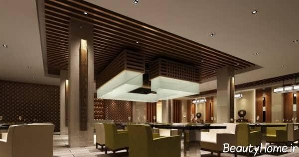 طراحی داخلی رستوران های کوچک و بزرگ با ایده مدرن روز