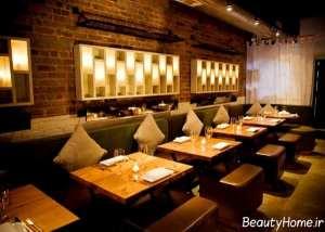 طراحی نورپردازی داخلی رستوران