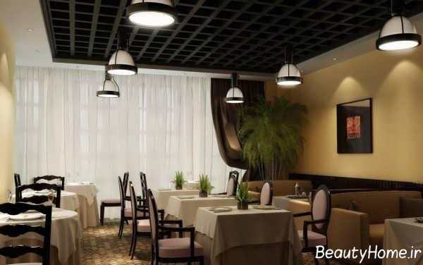 طرح های منحصر به فرد نمای داخلی رستوران