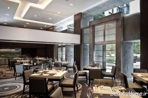 طراحی خاص داخلی رستوران