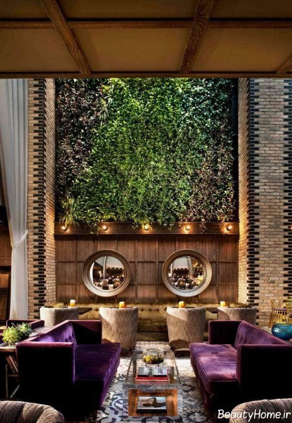 طراحی نمای داخلی رستوران