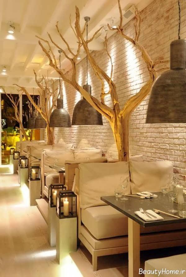 طراحی جدید داخلی رستوران
