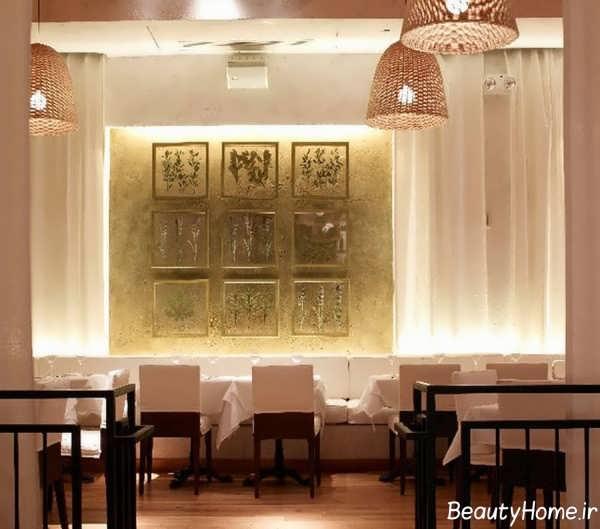 مدرن ترین طراحی داخلی رستوران