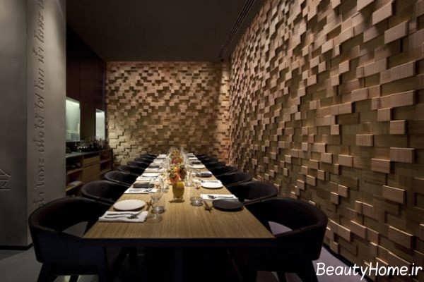 لوکس ترین طراحی داخلی رستوران