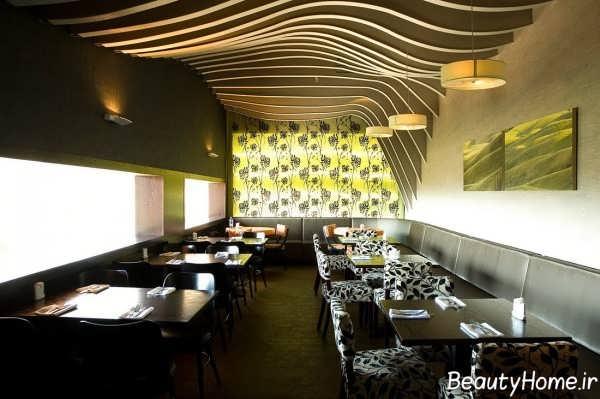 طراحی و چیدمان داخلی رستوران