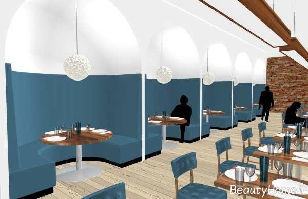 دکوراسیون داخلی رستوران های اروپایی