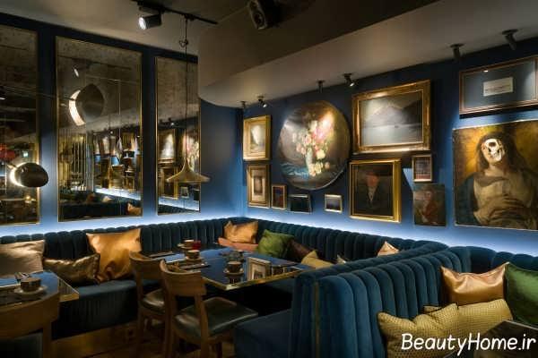 دکوراسیون داخلی لابی و رستوران هتل