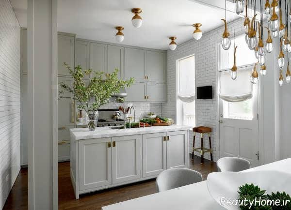 طراحی داخلی حرفه ای آشپزخانه