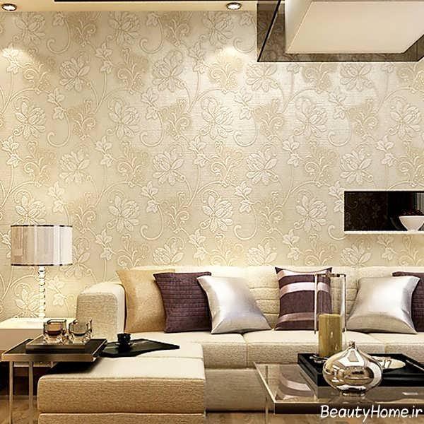 مدل زیبا و شیک کاغذ دیواری