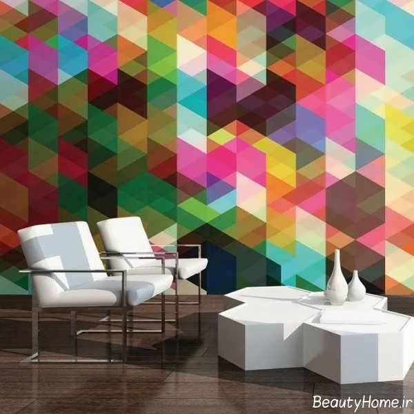 مدل کاغذ دیواری شیک و زیبا