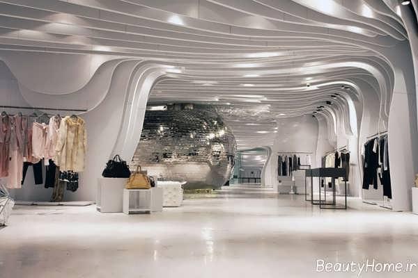 طراحی داخلی مکان تجاری