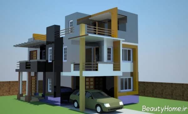 طراحی نما شیک برای ساختمان