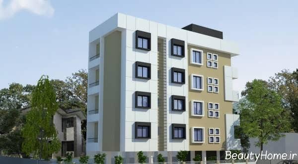 طراحی نمای ساختمان مسکونی با کمک ایده های خلاقانه