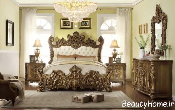 انواع سرویس خواب جذاب سلطنتی