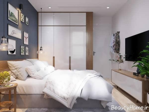 طراحی جالب خانه اروپایی ساده