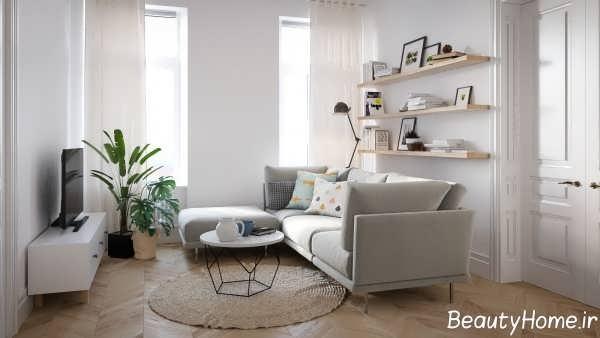 طرح های جدید خانه اروپایی ساده