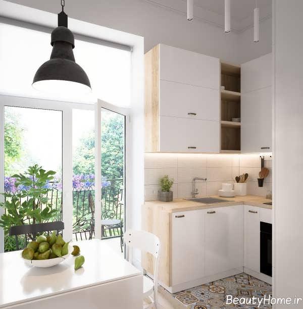 طراحی لوکس خانه اروپایی ساده
