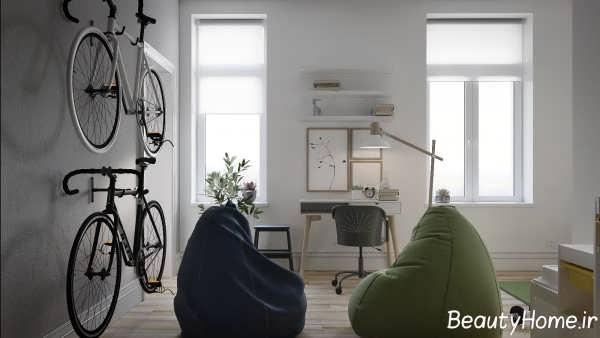 دیزاین داخلی شیک خانه اروپایی ساده