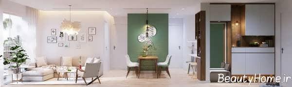 طراحی داخلی مدرن خانه اروپایی ساده
