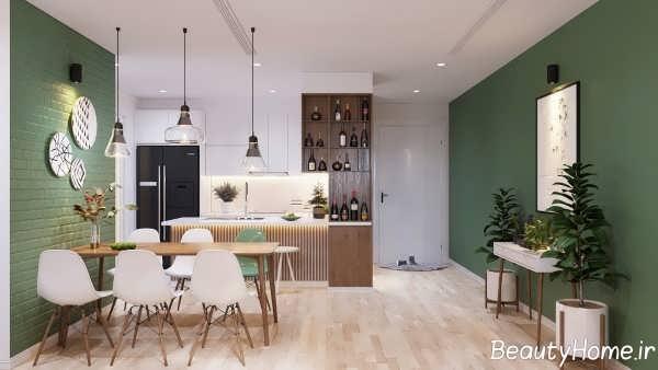 انواع طراحی خانه اروپایی ساده