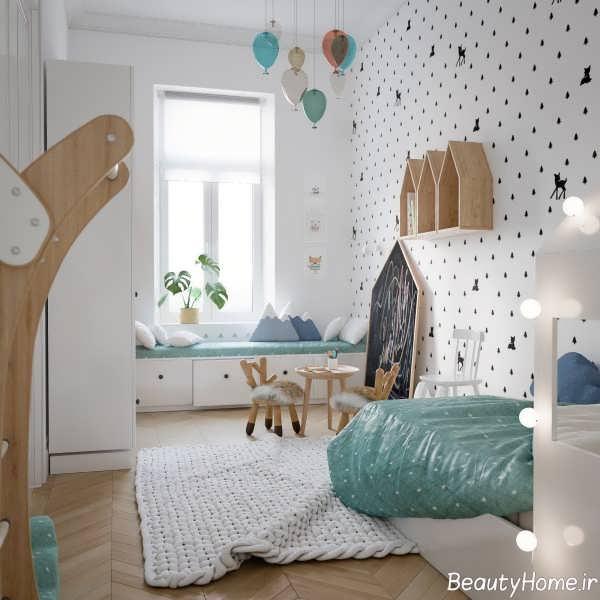 طراحی منحصر به فرد خانه اروپایی ساده