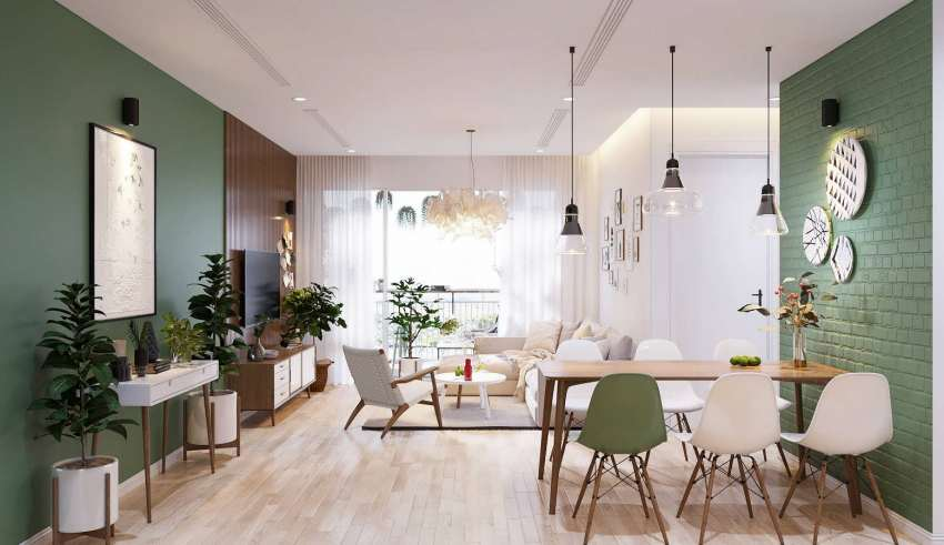 طراحی خانه اروپایی ساده برای خانواده جوان