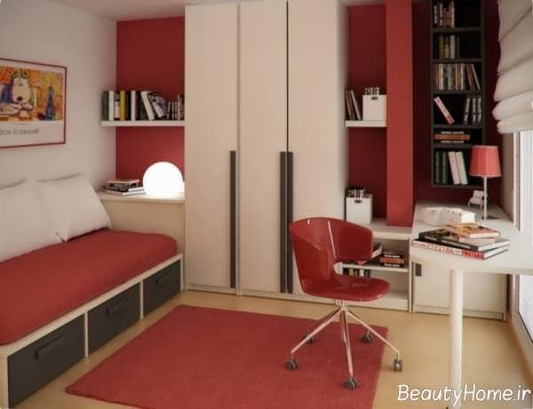 طرح های دکوراسیون های اتاق خواب خیلی کوچک