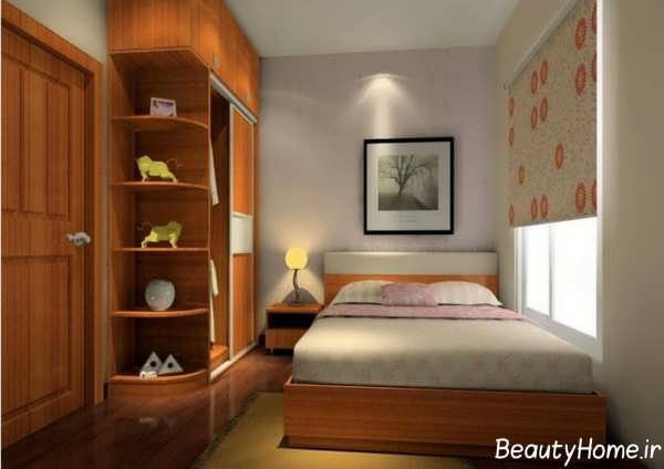 نکات طراحی اتاق خواب خیلی کوچک