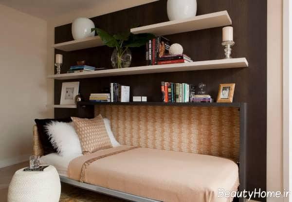 انواع دکوراسیون اتاق خواب خیلی کوچک