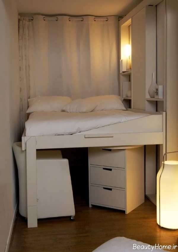 وسایل در دکوراسیون اتاق خواب کوچک
