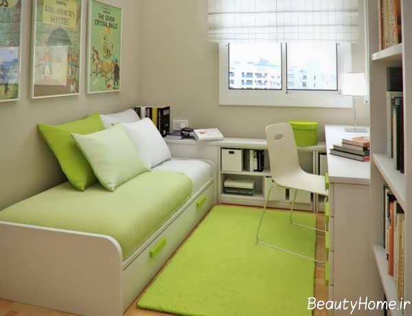 بهینه کردن فضای اتاق خواب خیلی کوچک