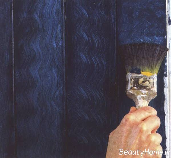 رنگ آمیزی نقاشی ساختمان با قلم مو