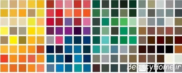 انتخاب رنگ مناسب برای نقاشی دیوارها