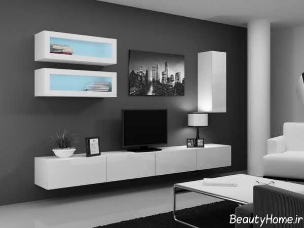 میز دیواری تلویزیون