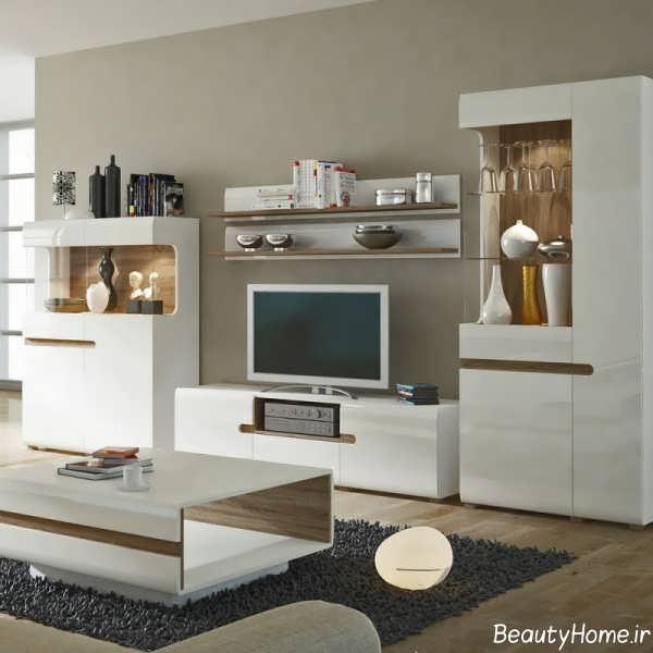 مدل های میز بار: مدل میز تلویزیون های گلاس جدید و باکلاس برای خانه های ایرانی