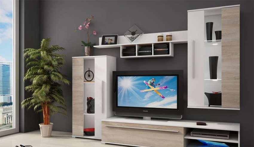 مدل میز تلویزیون های گلاس با طراحی شیک و کاربردی