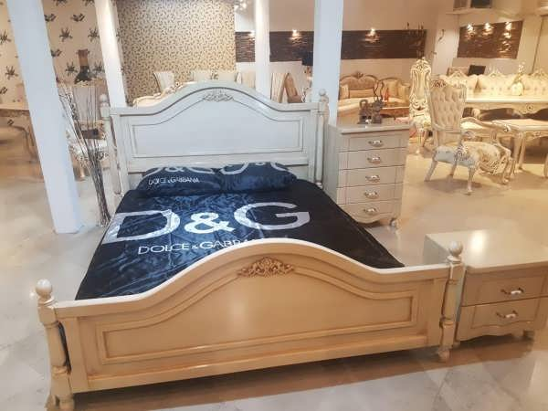 تخت خواب دونفره زیروف