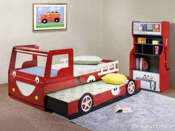 مدل تخت خواب پسرانه کودک