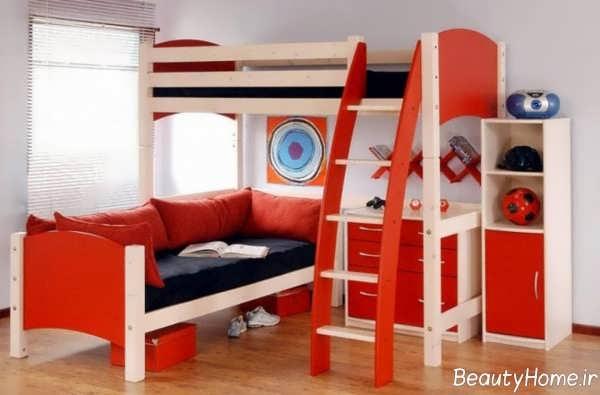 مدل تخت خواب دو طبقه کودک