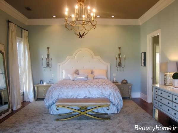 دکوراسیون اتاق خواب عروس زیبا و شیک