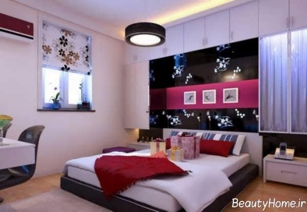 طراحی دکوراسیون اتاق خواب عروس با ایده های خلاقانه