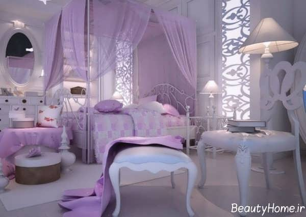 دکوراسیون داخلی اتاق خواب عروس