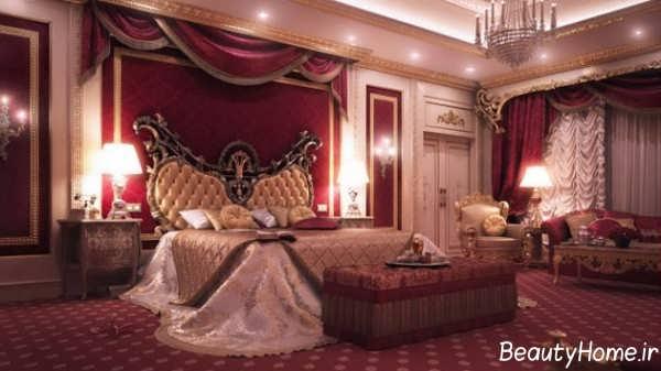 دکوراسیون داخلی سلطنتی عروس و داماد